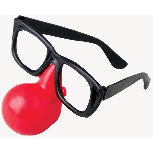 [Clown Glasses (12/Pack)] (Clown Glasses)