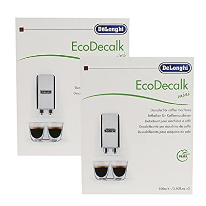 DeLonghi Coffee Machine Descaler Sachets by DeLonghi