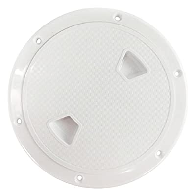 "Seaflo 6"" Boat Round Non Slip Inspection Hatch with Detachable Cover"