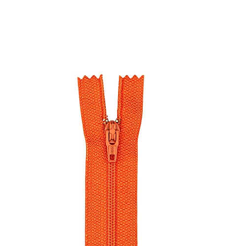 Coats & Clark 0299432 Poly All Purpose Zipper22in Tango