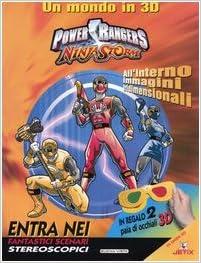 Power Rangers Ninja Storm. Un mondo in 3D: Amazon.es ...