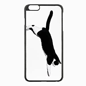 iPhone 6 Plus Black Hardshell Case 5.5inch - jump spotted Desin Images Protector Back Cover