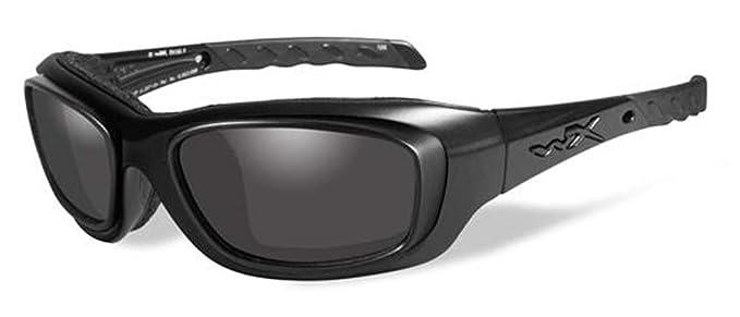 739f2ed01f2 WILEY X GRAVITY Matte Black Frame w RX Rim   Grey Lenses at Amazon ...