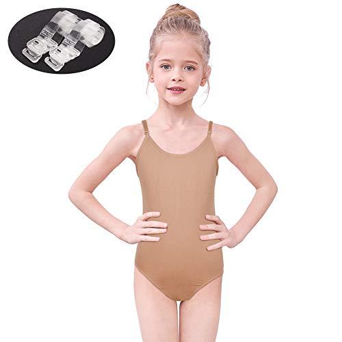 e7806e431374 ICOSY Girls Gymnastics Leotards Sparkle Dance Clothes Gymnast Bodysuit  Ballet Tutu One-Piece Suits 3-12 Years