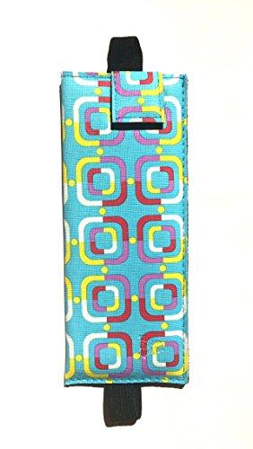 Geometric Blue Bookmark and Eyeglass - Venice Eyewear