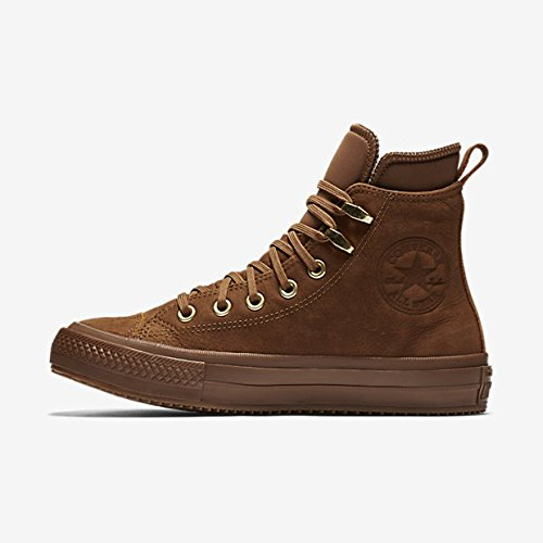 Converse CTAS Ember Boot HI Mens Skateboarding-Shoes 557946C_7.5 - Brown/Brown/Brass