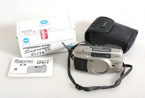 MINOLTA FREEDOM ZOOM SUPREME EX CAMERA WITH REMOTE CONTROL ORIGINAL BOX MANUAL (Ex Zoom Control)