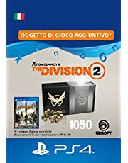 Pacchetto Valuta premium 1050 per Tom Clancy's The Division 2  - 1050 Credits DLC | PS4 Download Code - IT Account