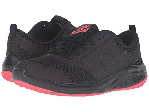(ニューバランス) New Balance レディースウォーキングシューズ?靴 WA85v1 Black/Pink 7.5 (24.5cm) B - Medium