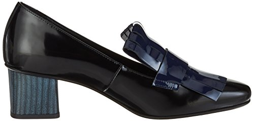 Marc Cain Damen HB SD.06 L17 Pumps Mehrfarbig (space blue)