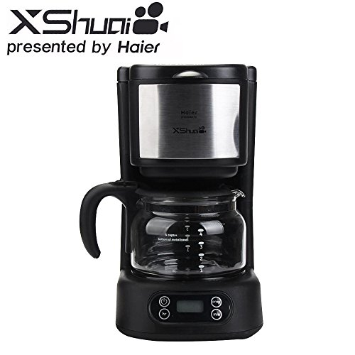 4 cup coffee maker with timer - 2