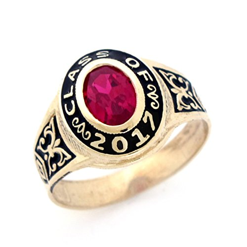 Gold Class Ring - 7