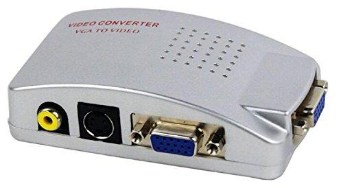 AVInAir VGA to Video / PC to TV Converter (Plastic Case), Black (AV-SF-TV531) - Scan Converter