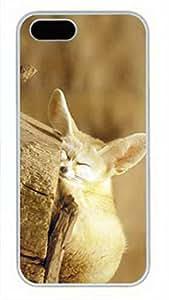 iCustomonline Unique Personalized Design Durable Hrad Cover Case for iPhone 5 5S Fox