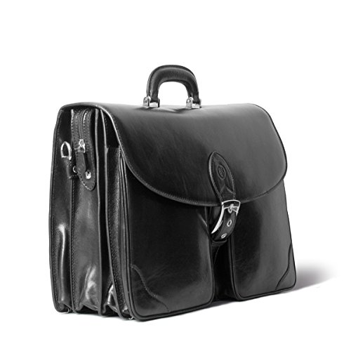 Cartable Maxwell Tomacelli3 Italien Personnalisable Scott® Noir Cuir 9DYW2HIE