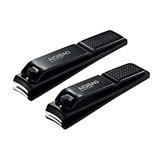 Nail Clippers Set - Fingernails Toenails Clippers Nail File Sharp Cutter with Gift Box