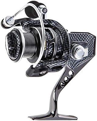 WHFDRHJZ Rueda de Pescado Carrete 11 BB Rodamientos Metal Spinning ...