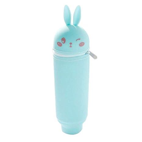 MSYOU - Estuche de silicona para lápices, diseño de conejo ...