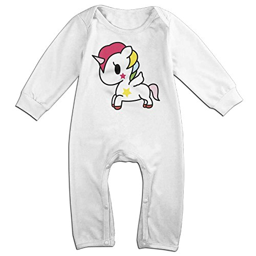 Devil Costume Ebay Woman (Boy & Girl Infants Unicorns Long Sleeve Romper Climb Clothes 18 Months)
