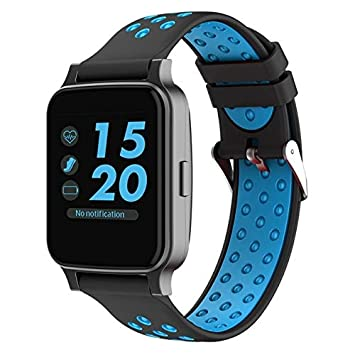 SmartWatch Z40 Reloj Pulsómetro compatible Android y iOS azul ...