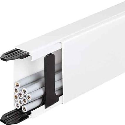 Hager LF3006009010 Bandeja porta - Cable (Bandeja portacables recta, 1500 mm², PVC,