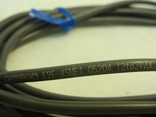OMRON INDUSTRIAL AUTOMATION E2EX5ME1 INDUCTIVE PROXIMITY SENSOR, 5MM, 12VDC TO 24VDC