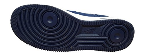 Nike Menns Air Force 1 07 Qs Basketball Sko Binære Blå Hvit 421