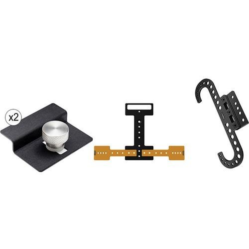 Inovativ Lite Kit for Suspending on Tripod Legs, Includes DigiPlate Lite, 2x DigiClamps for Laptop, DigiBracket and 3x Spacers by INOVATIV