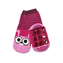 Weri Spezials Baby-Unisex Terry ABS Rabbit Slippers Anti Non Slip Socks