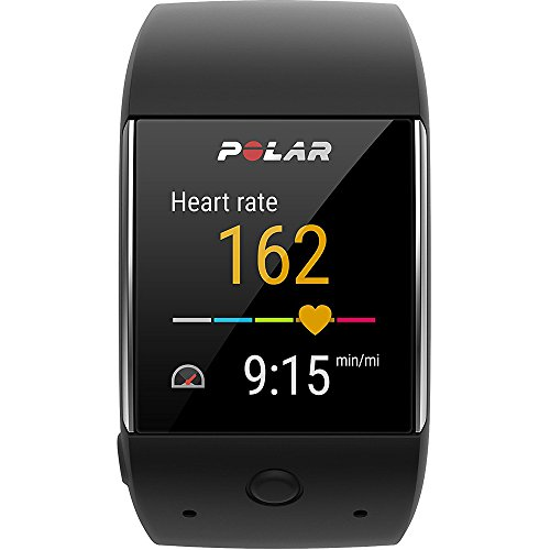 Polar M600 Sports Smart Watch - Black (90063087) w/Extended Warranty Bundle Includes, 1 Year Extended Warranty, Fusion Bluetooth Headphones, Universal Travel Wall Charger & 1 Piece Micro Fiber Cloth by Polar (Image #4)