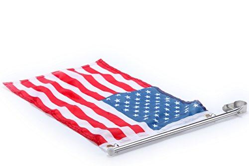 4PCS Amarine-Made Polished Stainless Steel Bench Table Folding Shelf Bracket US