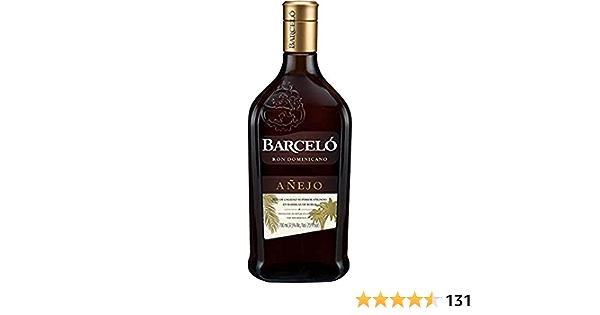 BARCELÓ Añejo Ron Dominicano 37,5% - 700 ml: Amazon.es ...