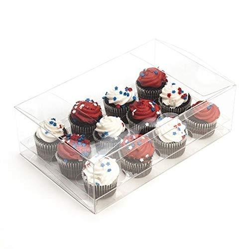 Case of 100 Fits 12.75 x 9.75 x 4 Box Ships Flat Twenty Four Mini Cupcake Insert