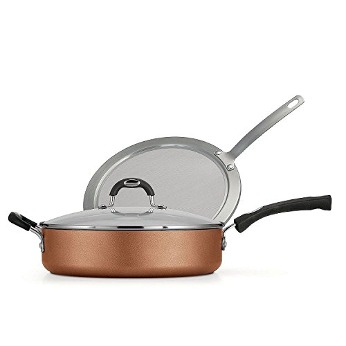 Tramontina 3 Piece Deep Saute Copper
