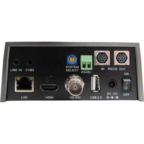 PTZOptics 30X Optical Zoom, 3G-Sdi, Hdmi, Cvbs, Ip Streaming 1920 X 1080P, 60.7 Degree Fov (Gray) by PTZOptics (Image #1)