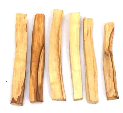 New Age Smudges and Herbs Palo Santo Incense Sticks, 6 Pack (Incense Smudge)