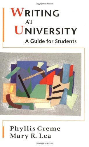 Writing For University  A Guide For Students