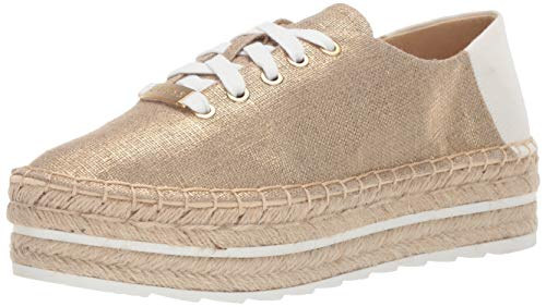 GUESS Women's VENUSA Shoe, Gold, 8 M ()