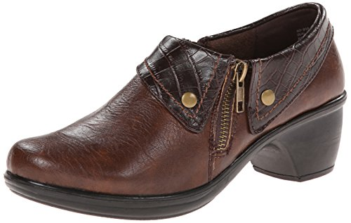 Easy Street Darcy Femmes Marron Large Chaussures Mocassins Pointure EU 39