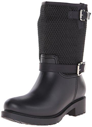 DAV Women's Jackson Rain Shoe - Black - 6 B(M) US