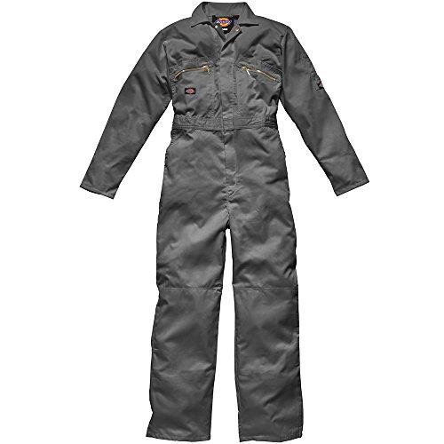 Dickies Redhawk con cremallera para Regular/trabajo para hombre gris