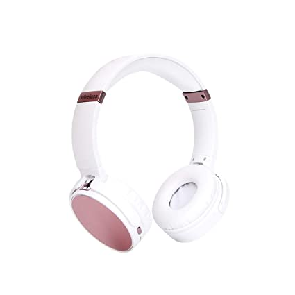 L&L Auriculares Bluetooth Headset inalámbricos 4.2 Auriculares estéreo Mini Auriculares Musicales Plegables Llamadas Manos Libres (