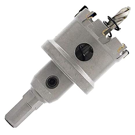 Asdomo Outil de per/çage /à Main Haute duret/é pour scie Cloche 16MM Silver