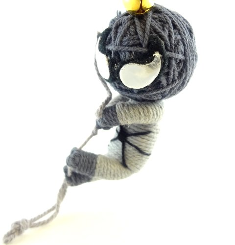 Venom Voodoo String Doll Key Chain Handmade Alien Creature Spiderman