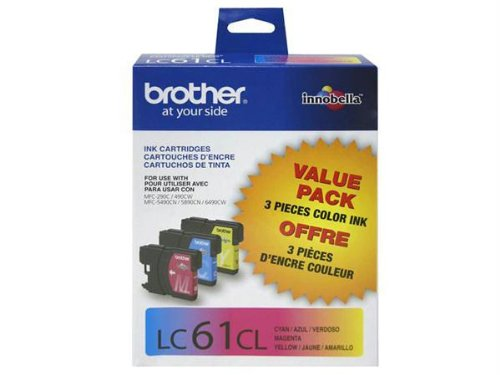 Brother International Corporat 3-Pack Lc613pks Cyan Magenta Yellow For Mfc-6490Cw - By