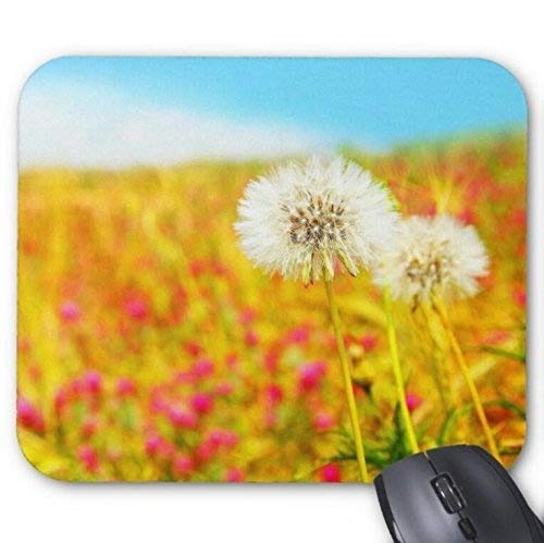 Durable Gaming Mouse pad,Dandelion and Flower Field for sale  Delivered anywhere in USA
