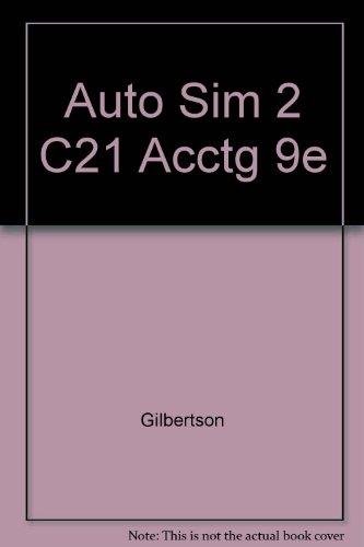 Auto Sim 2 C21 Acctg 9e