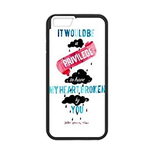 iPhone 6 Protective Case - Quotes from The Fault in Our Stars Hardshell Cell Phone Cover Case for New iPhone 6