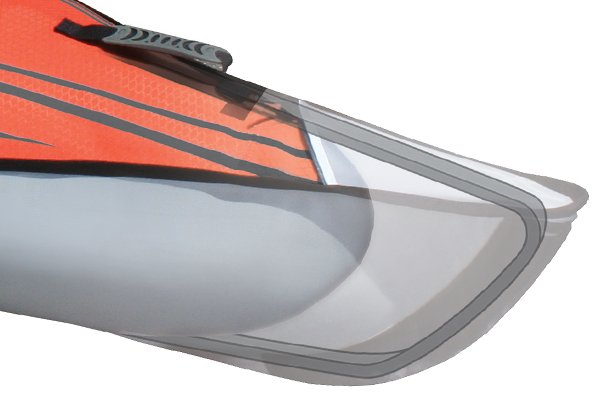 Rouge//Gris ADVANCED ELEMENTS Frame Covertible Kayak Gonflable Adulte Mixte