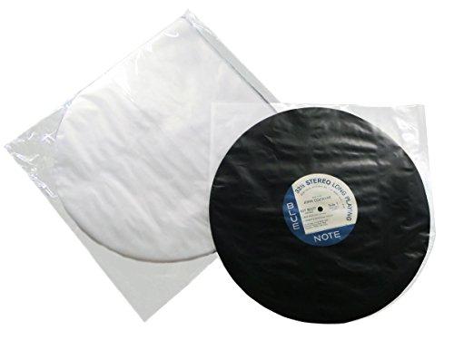 100 Plastic Record Inner Sleeves 12